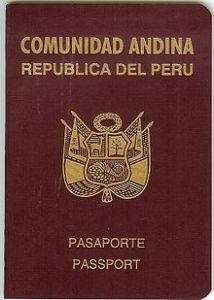 Peru_passport
