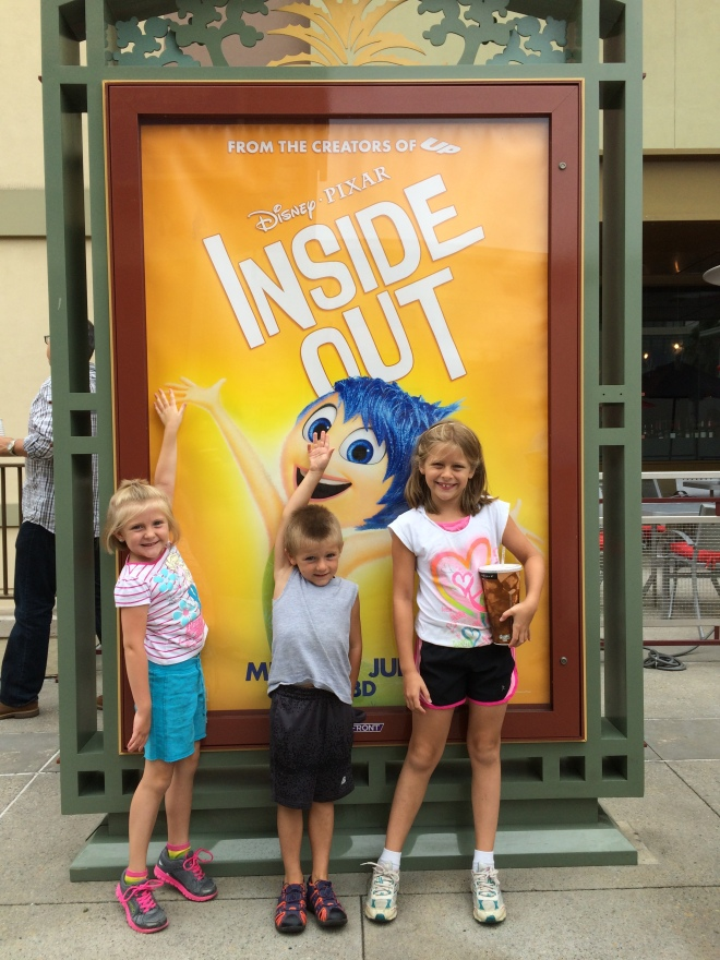 Inside Out was the perfect movie to see our first week here.